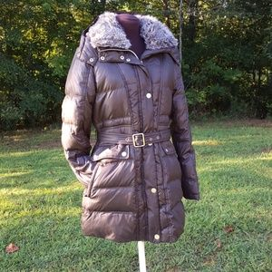 NWOT Vince Camuto Puffer Parka W/Removable Hood M